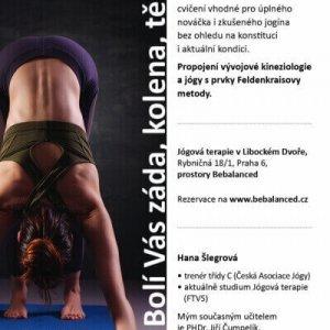 Cvičení Terapeutická jóga – najděte rovnováhu