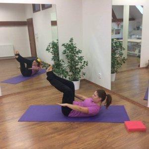 NOVĚ: Pilates s prvky fyzioterapie