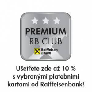 Be Balanced je partnerem Raiffeisen Bank PREMIUM CLUB