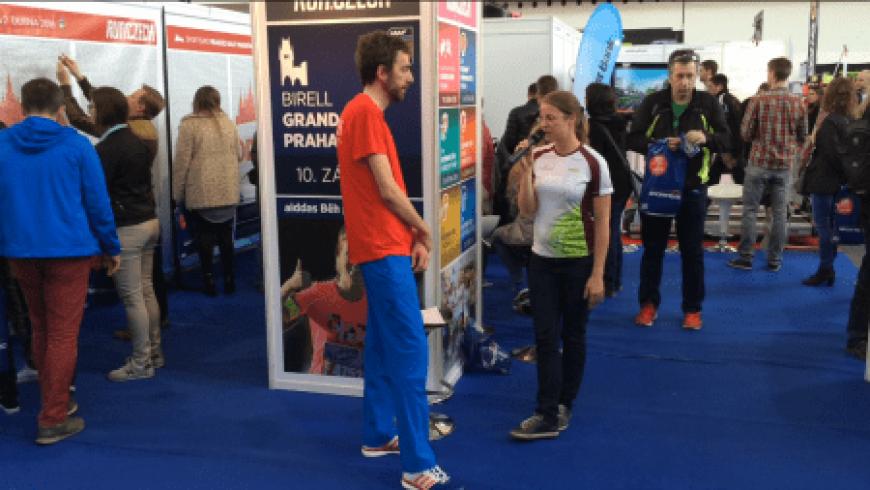 1/2 maratonské EXPO s aktivní účastní Be Balanced!