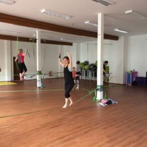 Indoor slackline – začátečníci (od 15-ti let)