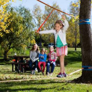 Indoor slackline – děti 8-18 let