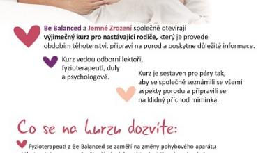 Harmonické těhotenství, jemný porod