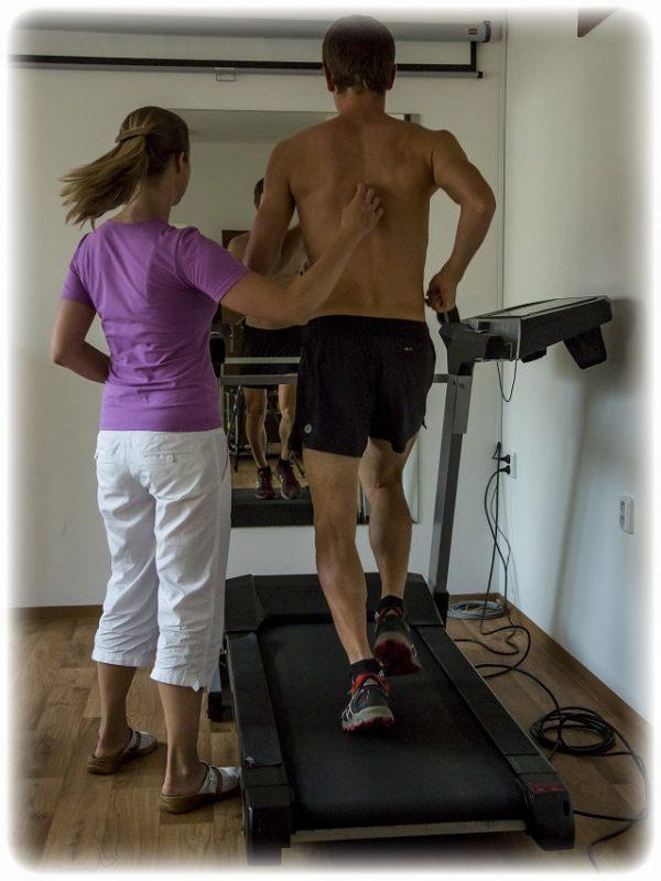 diagnostika běhu