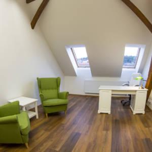 Nabízíme ke sdílení terapeutické místnosti na Praze 6