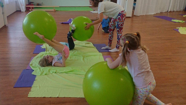 Dětské lekce – cvičení i muzikohrátky